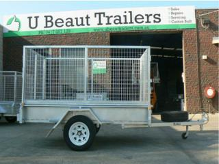 U beaut trailers 8�5 Single Axle & Heavy Duty Trailers