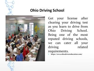Ohio Driving School