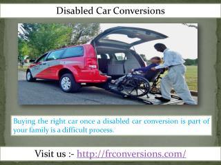 Handicap Van Service- Fr Conversions