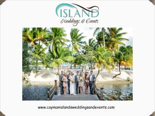 How to plan the best beach weddings in Cayman Islands!