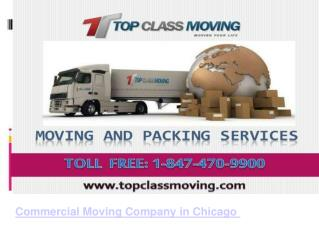 Commercial Moving Company in Chicago.