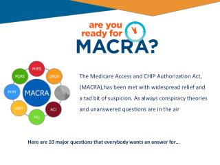 are you read 10 macra question