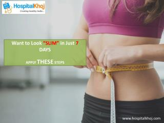 How to Become Slim in Only 7 Days