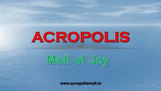 Acropolis Mall - The Ultimate Shopping Destination in Kolkata