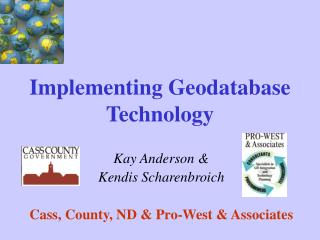 Implementing Geodatabase