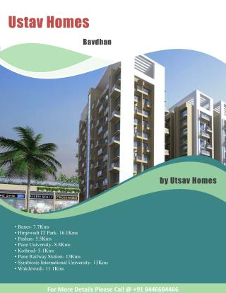 Ustav Homes in Bavdhan offer smart homes at affordable cost