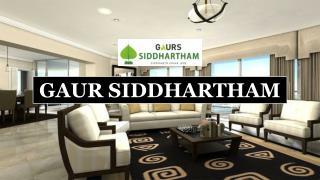 Gaur Siddhartham Apartments at Siddharth Vihar Ghaziabad