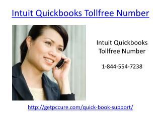 Intuit Quickbooks Tollfree Number 1-844-554-7238