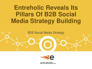 Entreholic Reveals Its Pillars Of B2B Social Media Strategy Building