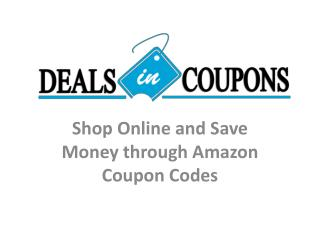 Amazon Coupon Offer