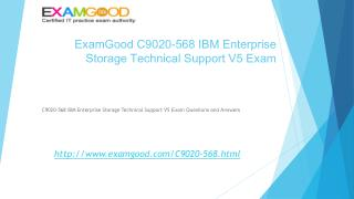 C9020-568 IBM Storage Technical Support V5 exam test questions