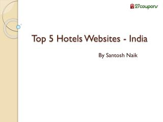 Top 5 Hotels websites