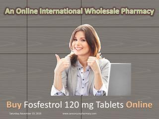 Fosfestrol 120 mg Tablet
