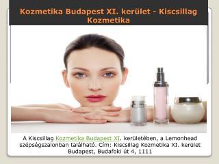 Kozmetika Budapest XI. kerület - Kiscsillag Kozmetika