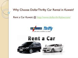 Why to choose DollarThrifty Car Rental?
