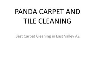 Carpet Cleaning Services East Valley
