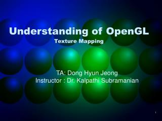 Understanding of OpenGL