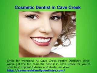 Cosmetic Dentist in Carefree
