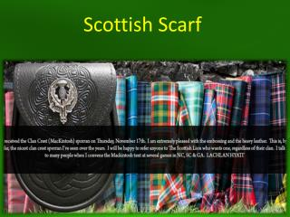 Scottish Scarf