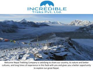 trekking company Nepal