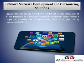 Offshore Software Development and Outsourcing Solutions in New York