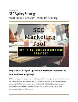 Search Engine Optimisation For Inbound Marketing :- Netstripes