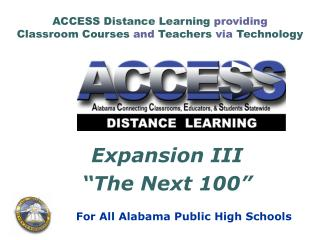 ACCESS Distance Learning providing Classroom Courses and ...