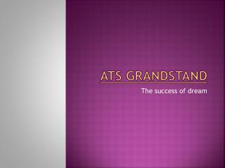 ATS Grandstand | ATS Grandstand Gurgaon sec 99A