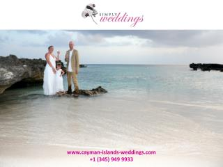 How to hold an inexpensive and elegant Cayman destination wedding