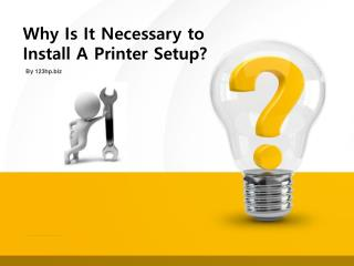 steps to install hp 3830 printers