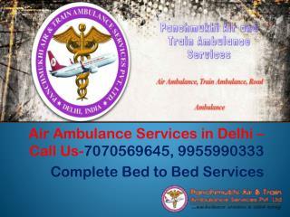 Panchmukhi Air and Train Ambulance Services in Delhi