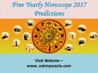 Horoscope 2017 Predictions | Free Yearly Horoscope | Each Zodiac Sign