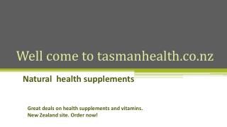 tasmanhealth.co.nz | Milk Thistle Extract Powder