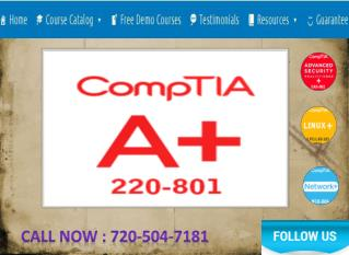 CompTIA Certifications in USA