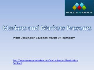 Water Desalination Market
