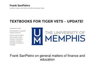Frank SanPietro's Blog