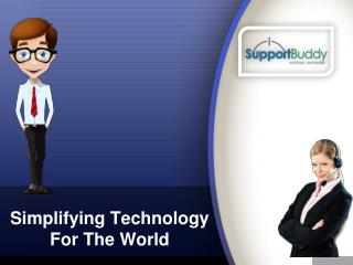 SupportBuddy-Firm Delivering Technical Aid via Call on 1-888-753-5164