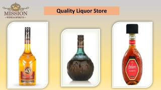 Quality Liquor Store - Mission Liquor