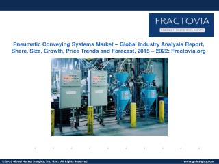 Pneumatic Conveying Systems Market – Global Industry Analysis Report, Share, Size, Growth, Price Trends and Forecast, 20