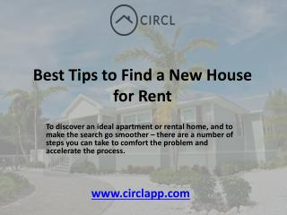 Best Tips to Find a New House for Rent in Toronto | CIRCL