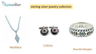 Sterling Silver Jewelry Collection - Kamarsilver
