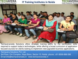 IT Training Institutes in Noida
