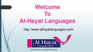 Al Hayat languages – International Language Centre