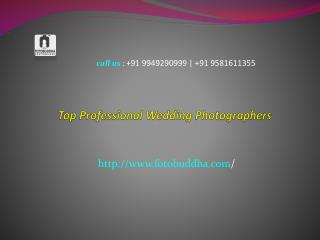 Top Professional Wedding Photographers In Hyderabad
