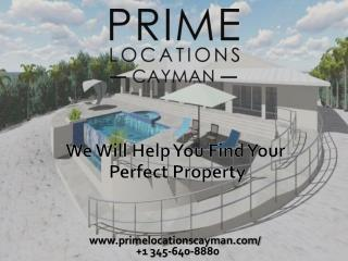 Buy property in Cayman Islands and enjoy quality of life