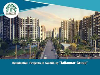 "Residential  Projects in Nashik by ""Jaikumar Group"""