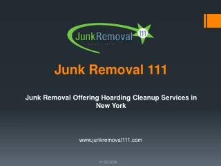 Junk Removal Offering Hoarding Cleanup Services in New York