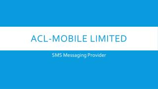 What You Should Know About The SMS Messaging Provider