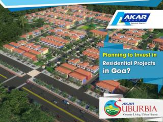 Planning to invest in residential projects in Goa?