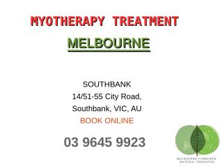 Benefits of Myotherapy Massage treatment in Melbourne